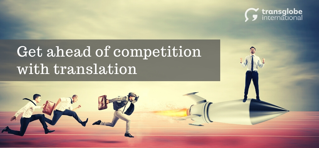 Get ahead of competition - header